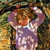 Allie at Four by Chris Duke