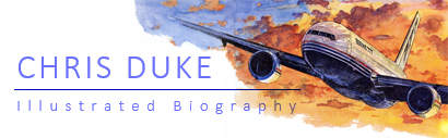 Illustrated Biography - Chris Duke