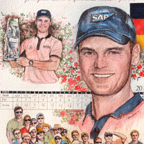 Martin Kaymer 2014 by Chris Duke