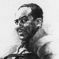 Langston Hughes by Chris Duke