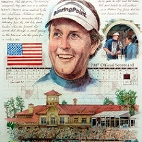 Phil Mickelson by Chris Duke