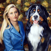 Amanda and Odin by Chris Duke