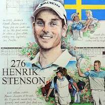 Henrik Stenson by Chris Duke