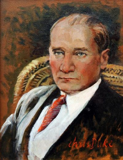 Mustafa Kemal Ataturk - I by Chris Duke