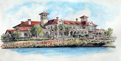Clubhouse at Sawgrass by Chris Duke