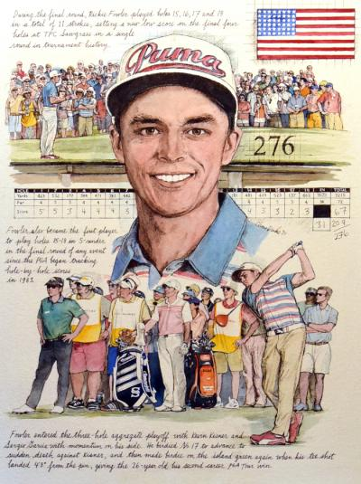 Rickie Fowler 2015 by Chris Duke