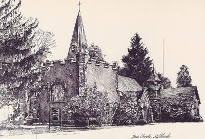 Grace Church, Millbrook by Chris Duke