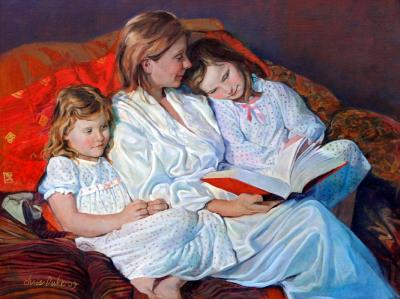 Katie, Kayla and Scarlett Salls by Chris Duke