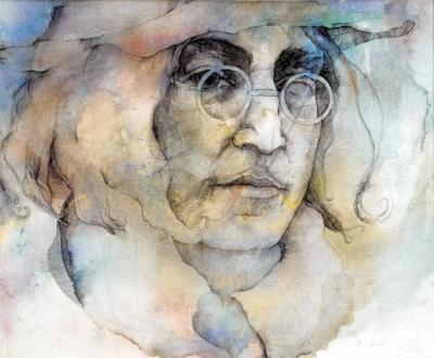 John Lennon by Chris Duke
