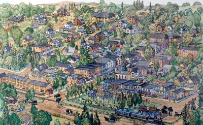 Life in a Small Town, American Girl by Chris Duke