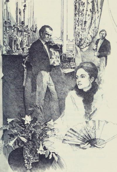 Madame Olenska, The Age of Innocence by Chris Duke