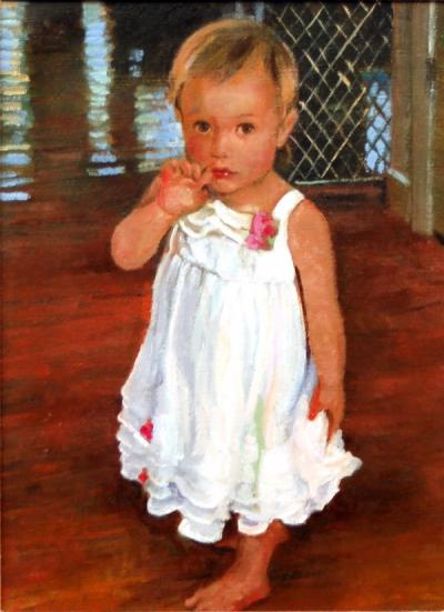 Madison at 19 Months by Chris Duke