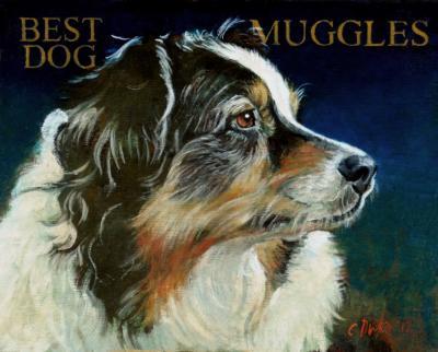 Muggles Best Dog by Chris Duke