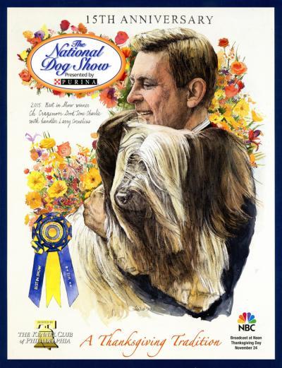 National Dog Show 2016 Poster by Chris Duke