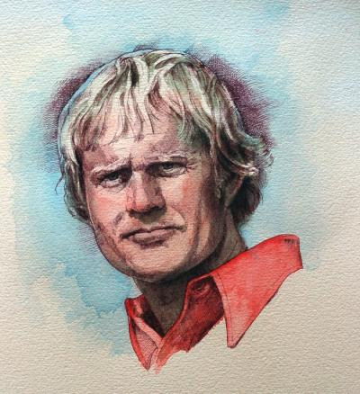 Jack Nicklaus by Chris Duke