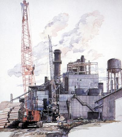 Paper Mill in Georgia by Chris Duke