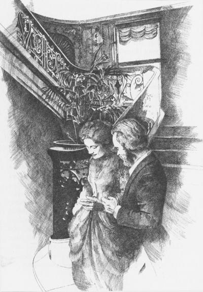 Newland Archer Escorts Madame Olenska by Chris Duke