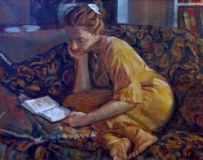 Inga Reading - IV by Chris Duke