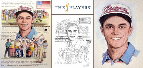 Rickie Fowler, PLAYERS Portrait - Chris Duke