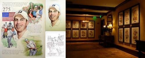 Matt Kuchar, PLAYERS Portrait - Chris Duke
