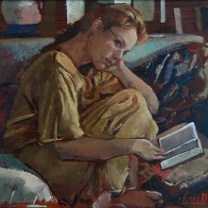 Inga Reading - II by Chris Duke
