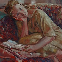 Inga Reading - III by Chris Duke