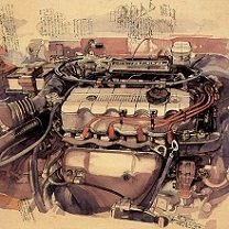 Engine by Chris Duke