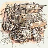 Chrysler Motor by Chris Duke