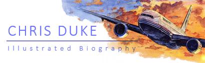 Illustrated Biography - Chris Duke