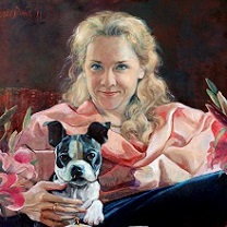 Inga and Lucy by Chris Duke