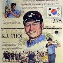 KJ Choi by Chris Duke