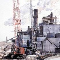 Paper Mill in Georgia by Chris Duke
