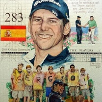 Sergio Garcia by Chris Duke