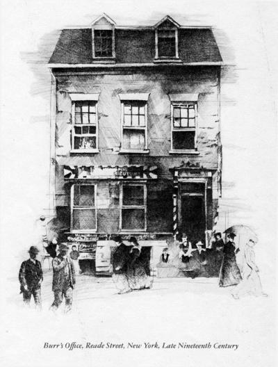 Aaron Burr's House, New York by Chris Duke