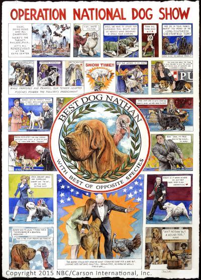 Operation National Dog Show by Chris Duke
