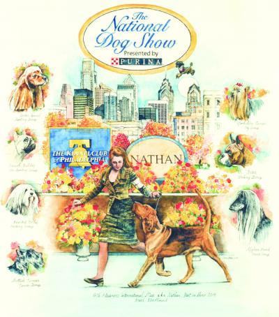 National Dog Show 2015 Poster by Chris Duke