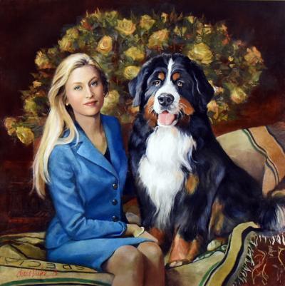 Amanda and Odin by Chris Duke