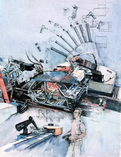 Robotic Arm by Chris Duke