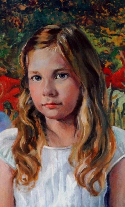 Portrait of Zoe by Chris Duke
