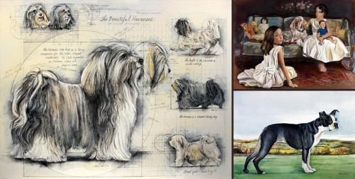 Latest Dog Paintings - Chris Duke